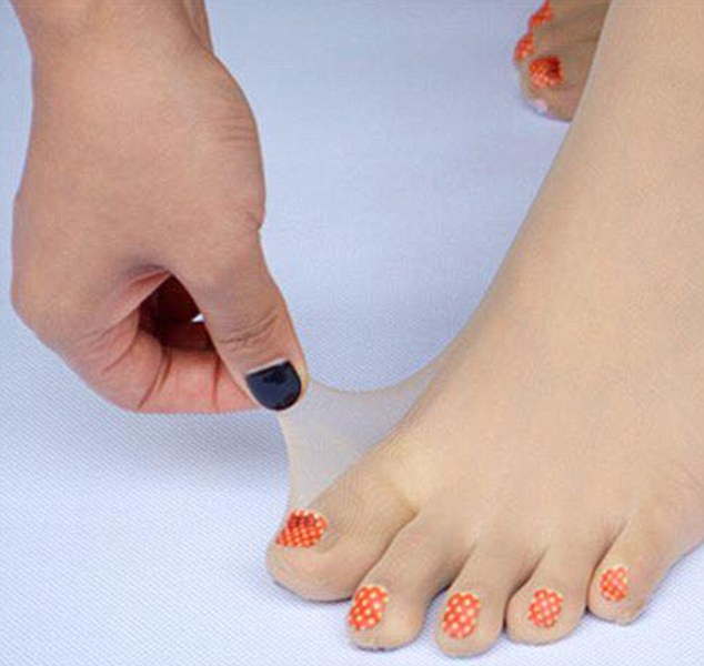 Never paint your toe-nails again, wear these stockings.. - KiSS 91.7