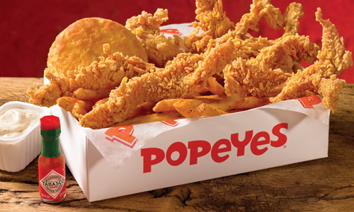 popeyes louisiana kitchen is opening in edmonton kiss 917 - Popeyes Louisiana Kitchen Spicy Chicken Wing