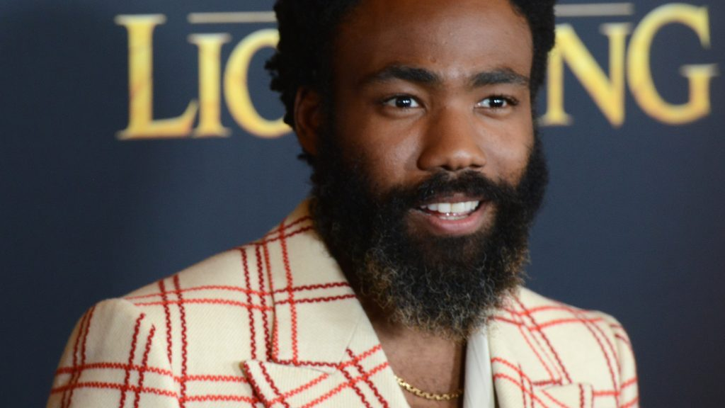 """HOLLYWOOD, CA - JULY 09: Donald Glover arrives for the Premiere Of Disney's """"The Lion King"""" held at Dolby Theatre on July 9, 2019 in Hollywood, California."""