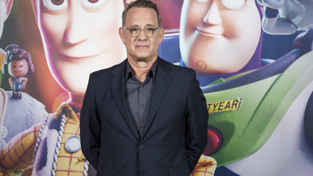 BARCELONA, SPAIN - JUNE 19: Tom Hanks attends the 'Toy Story 4' photocall on June 19, 2019 in Barcelona, Spain.