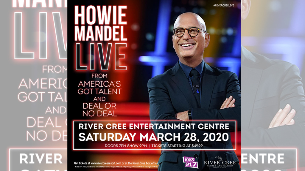 howie mandel live at the river cree resort & casino